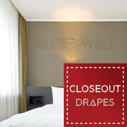 Closeout Drapes